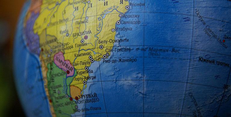 С какими странами граничит Бразилия