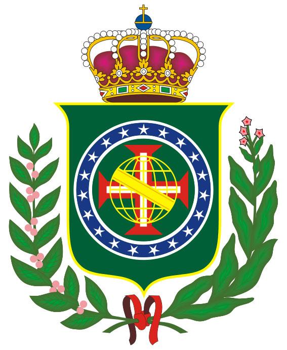 Герб Бразилии в 1822 году